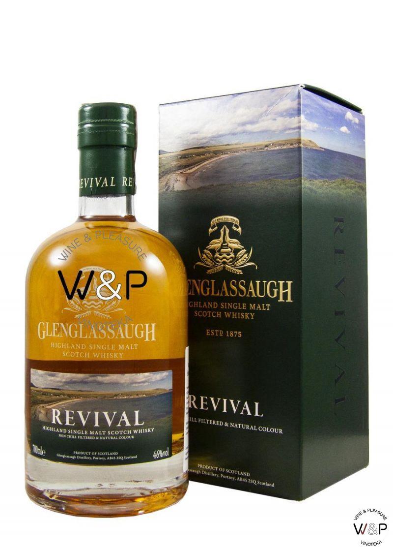 Whisky Glenglassaugh Revival 0.7L