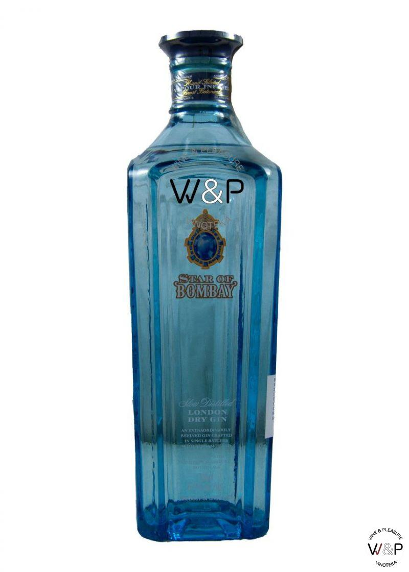 Gin Star Of Bombay 0,7l