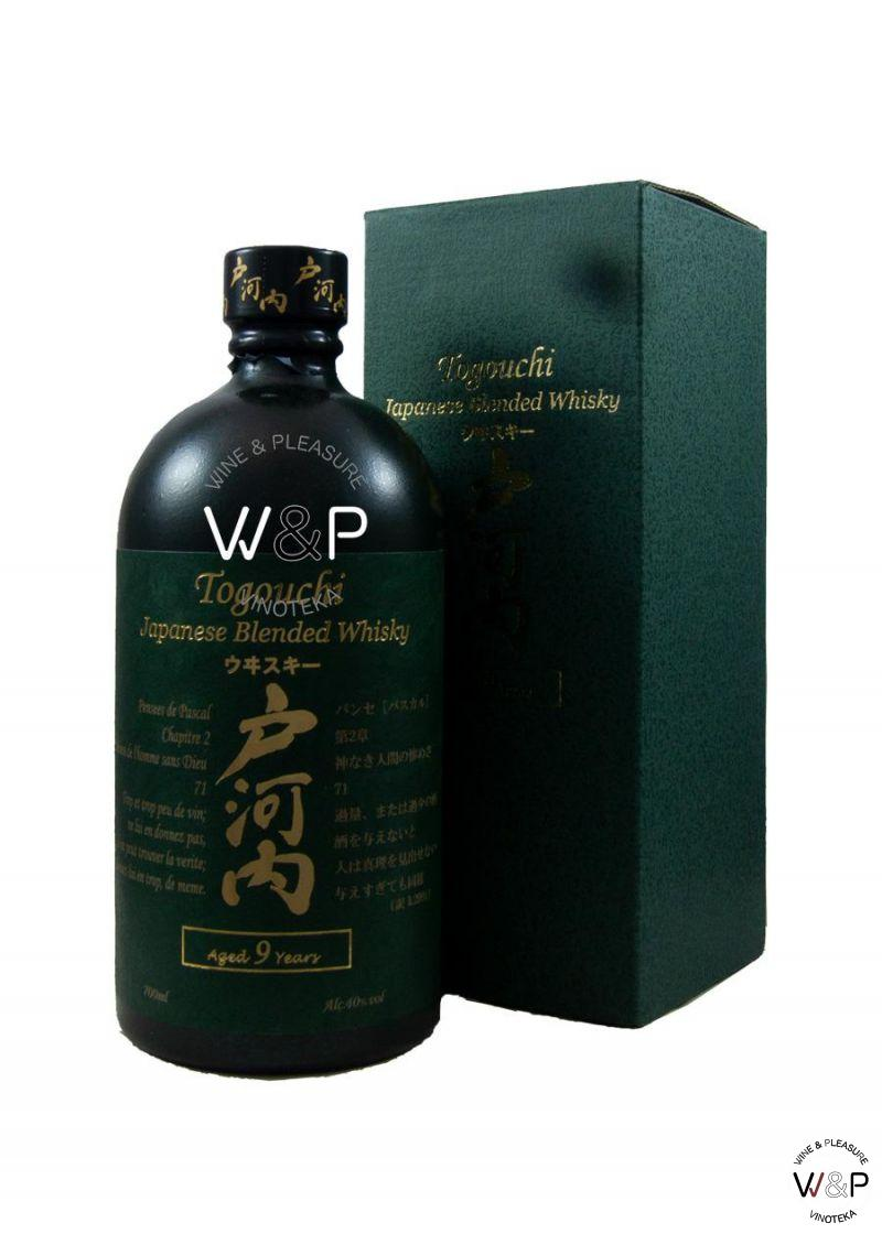 Whisky Togouchi Japanese 9 Years Old 0,7l