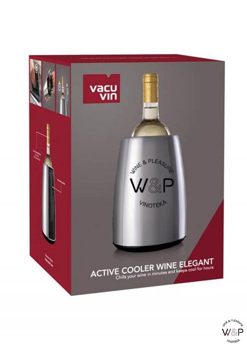 Vacuvin Kibla wine elegant-čelik 3649360