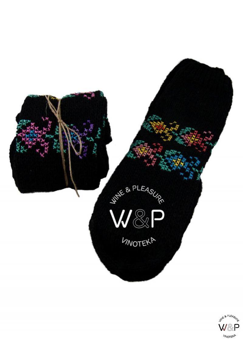Čarape Vunene Vezene