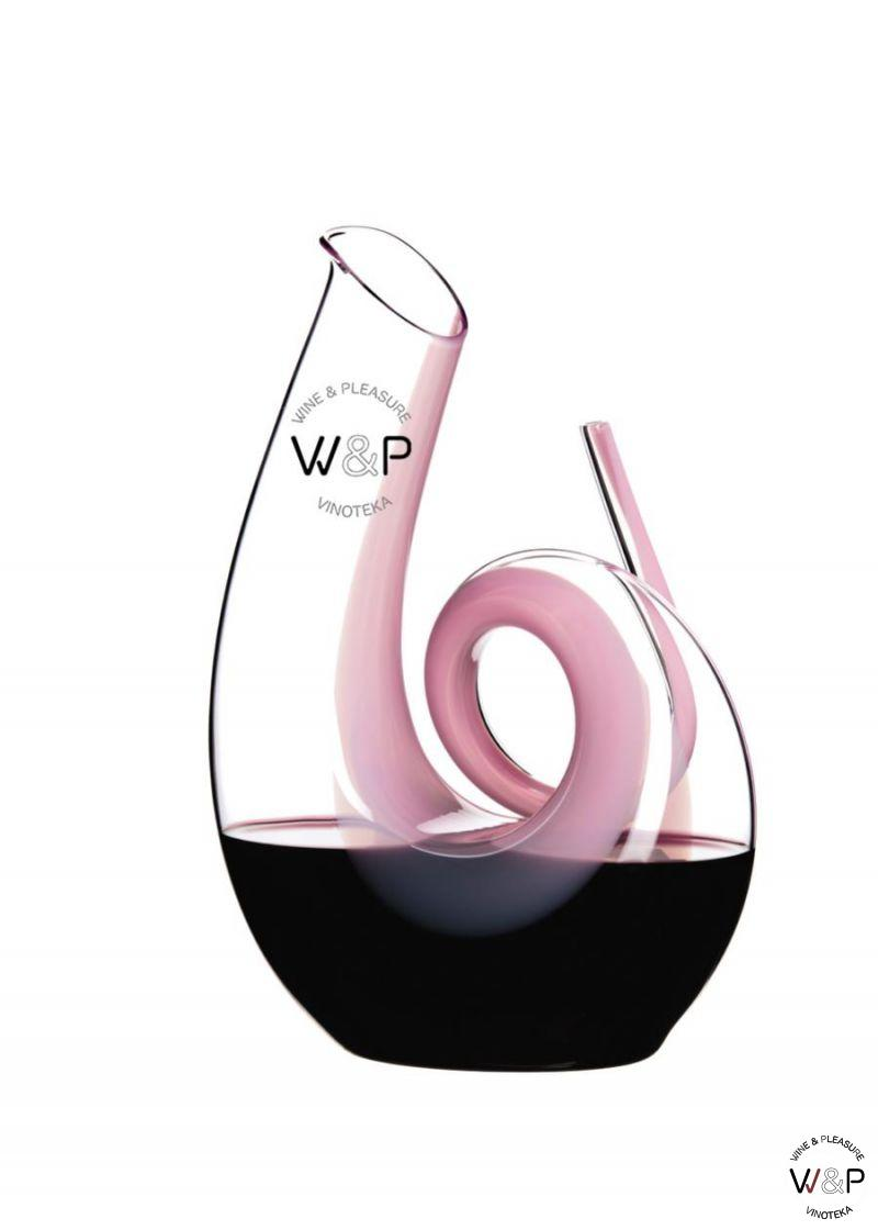 Riedel Decanter Curly Pink