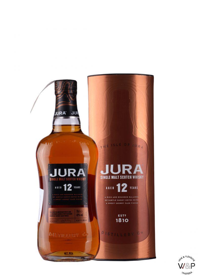 Whisky Jura 12 YO 0,7l
