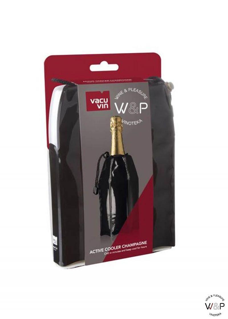Vacuvin Uložak za hlađenje šampanjca crni 38856606