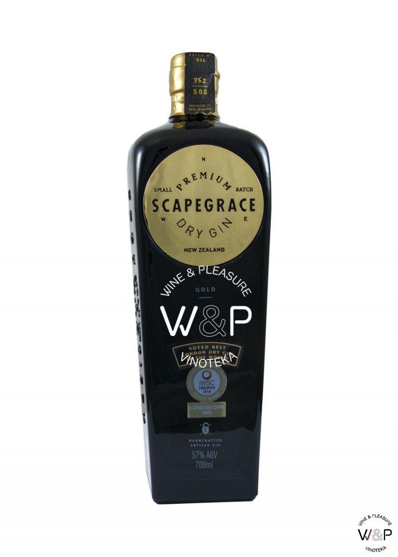 Gin Scapegrace Gold 0,7l