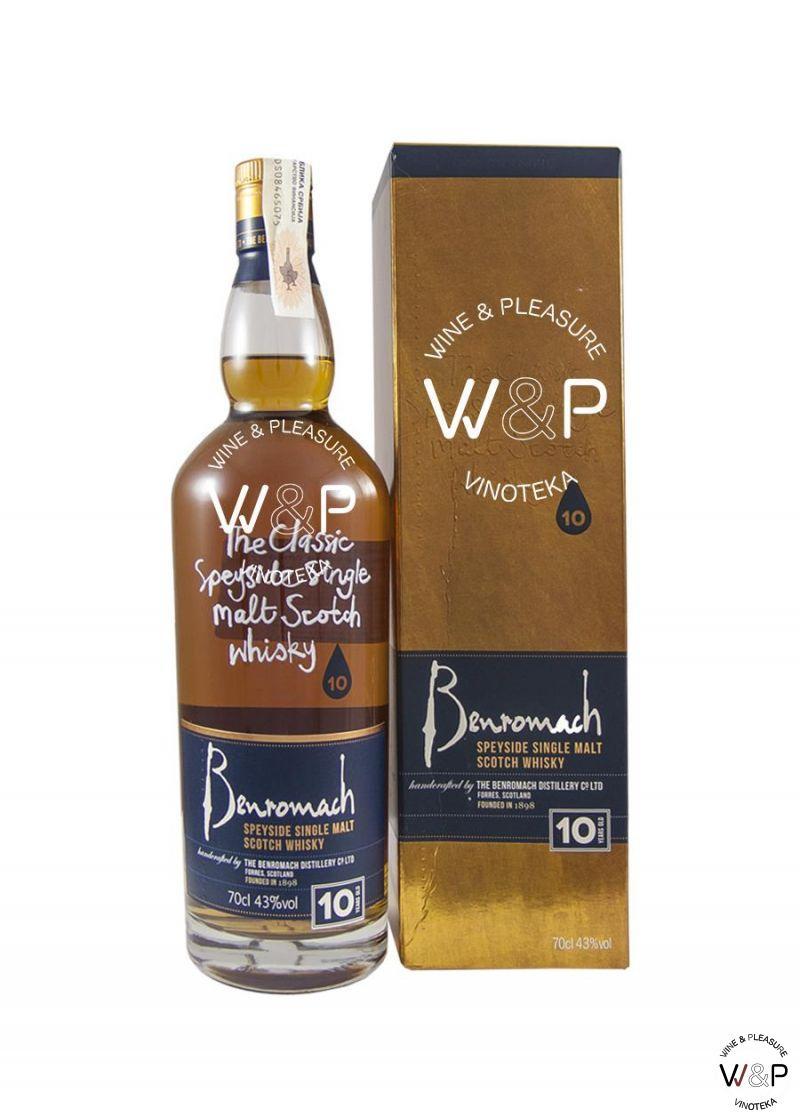 Whisky Benromach 10 YO Speyside 0,7l