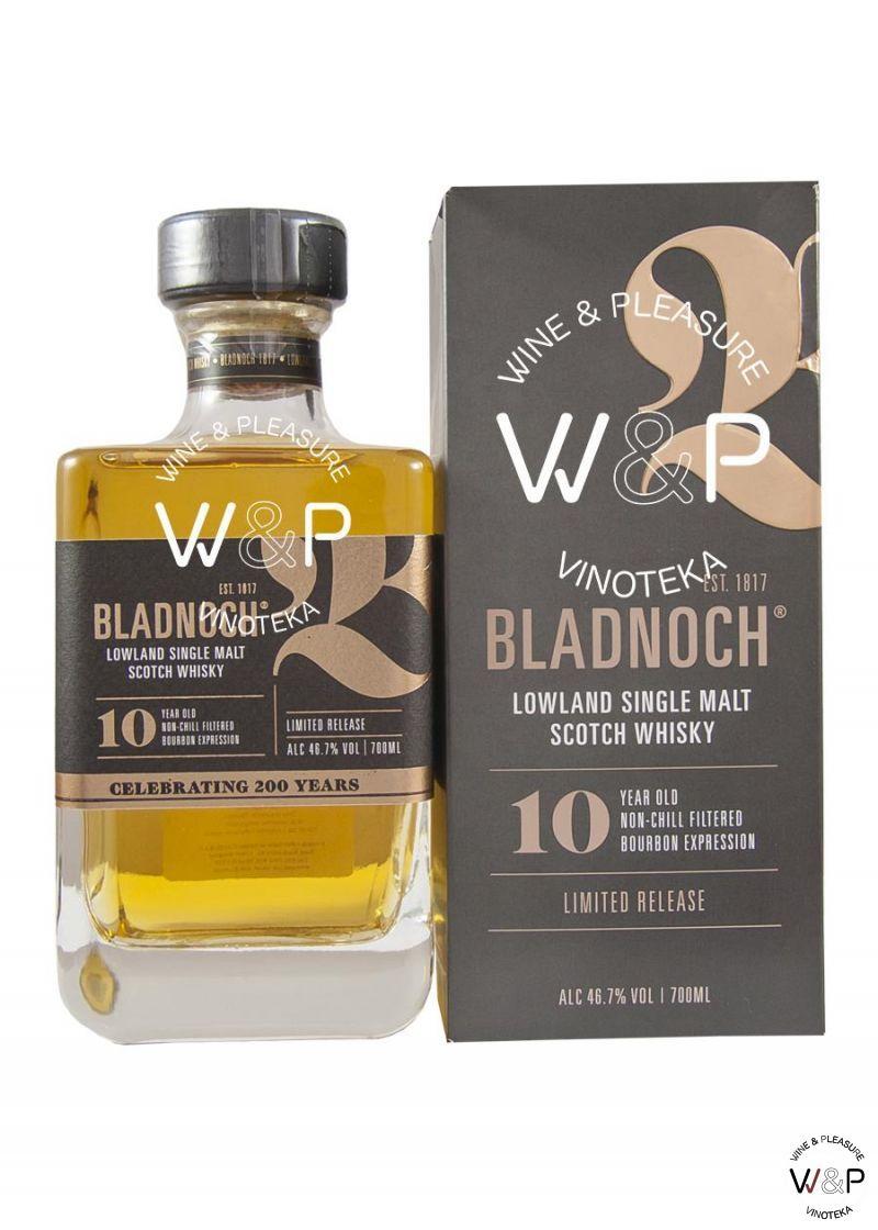 Whisky Bladnoch 10 YO Lowland 0,7l