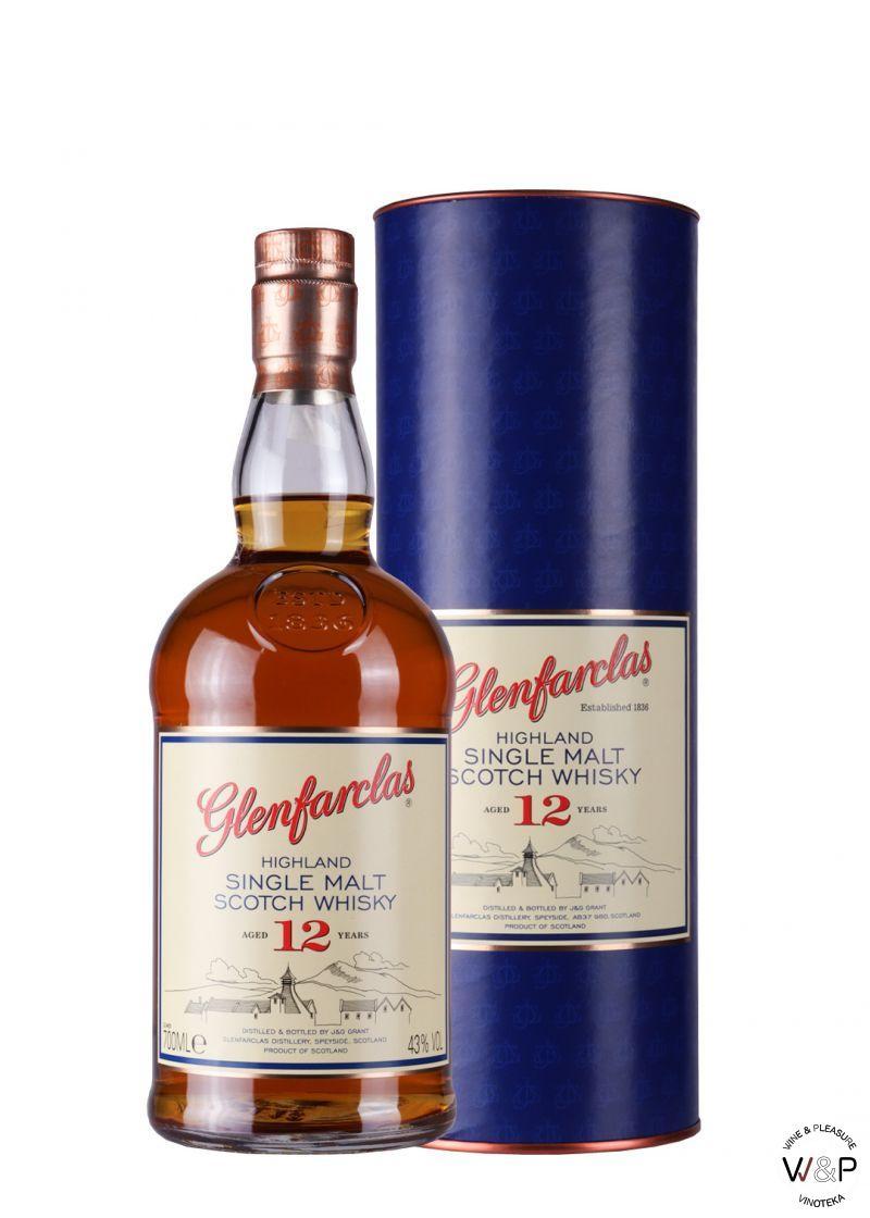 Whisky Glenfarclas 12 YO 1l