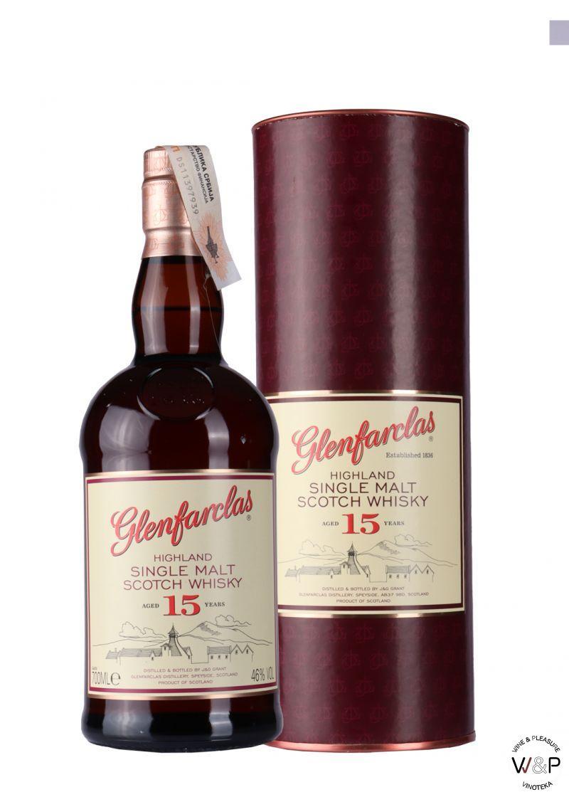 Whisky Glenfarclas 15 YO 0,7l