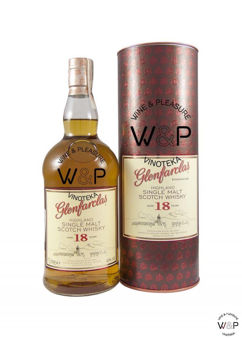 Whisky Glenfarclas 18 YO 1l