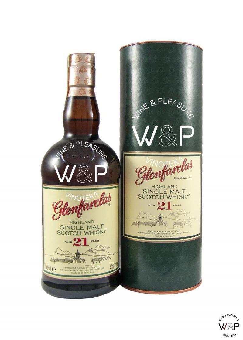 Whisky Glenfarclas 21 YO 0,7l