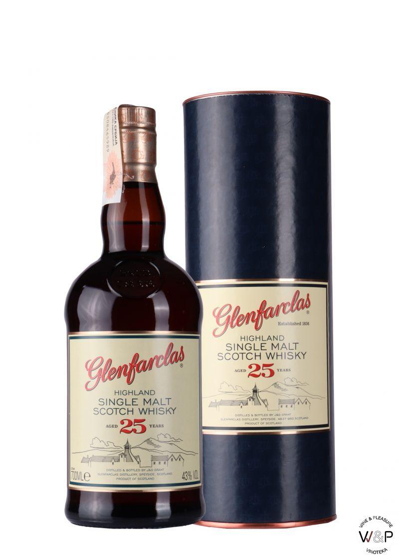 Whisky Glenfarclas 25 YO 0,7l
