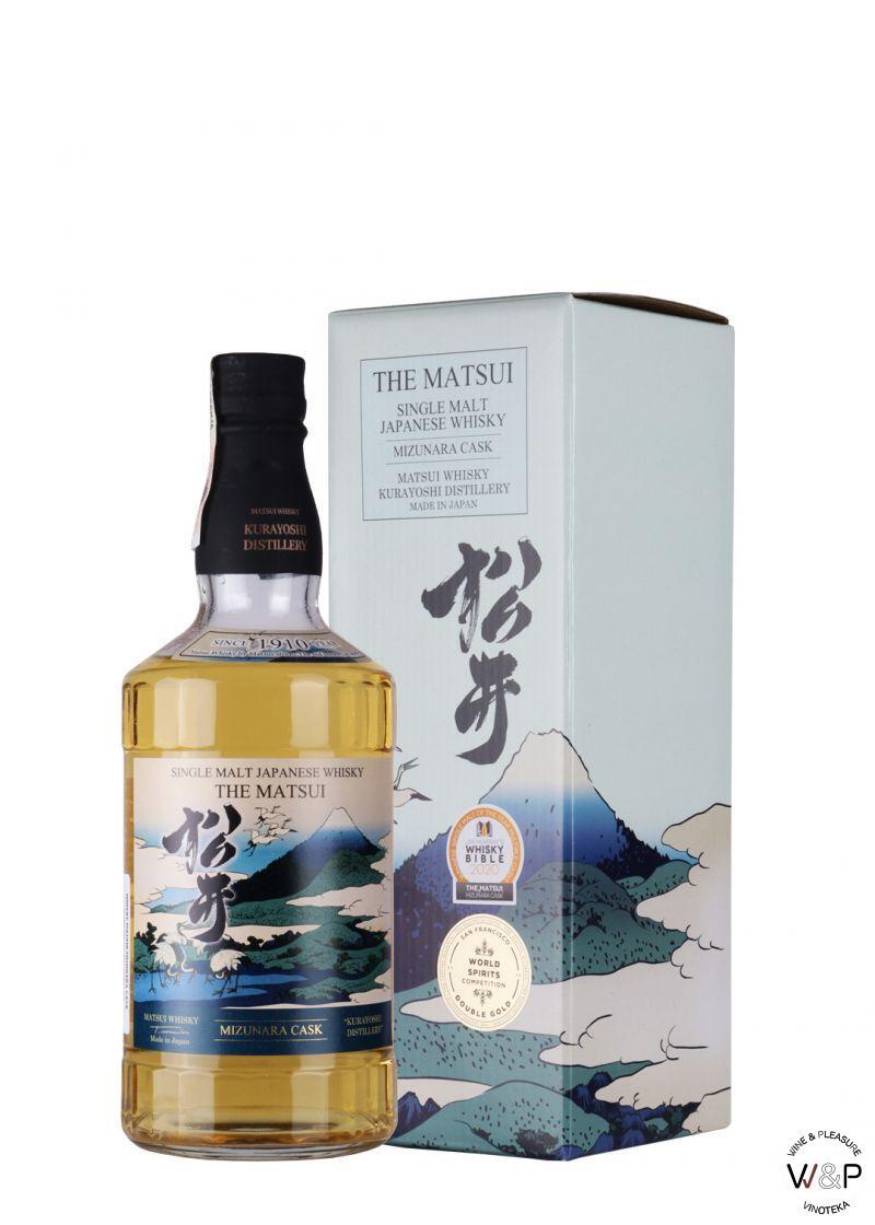 Whisky Matsui Mizunara Cask 0,7l
