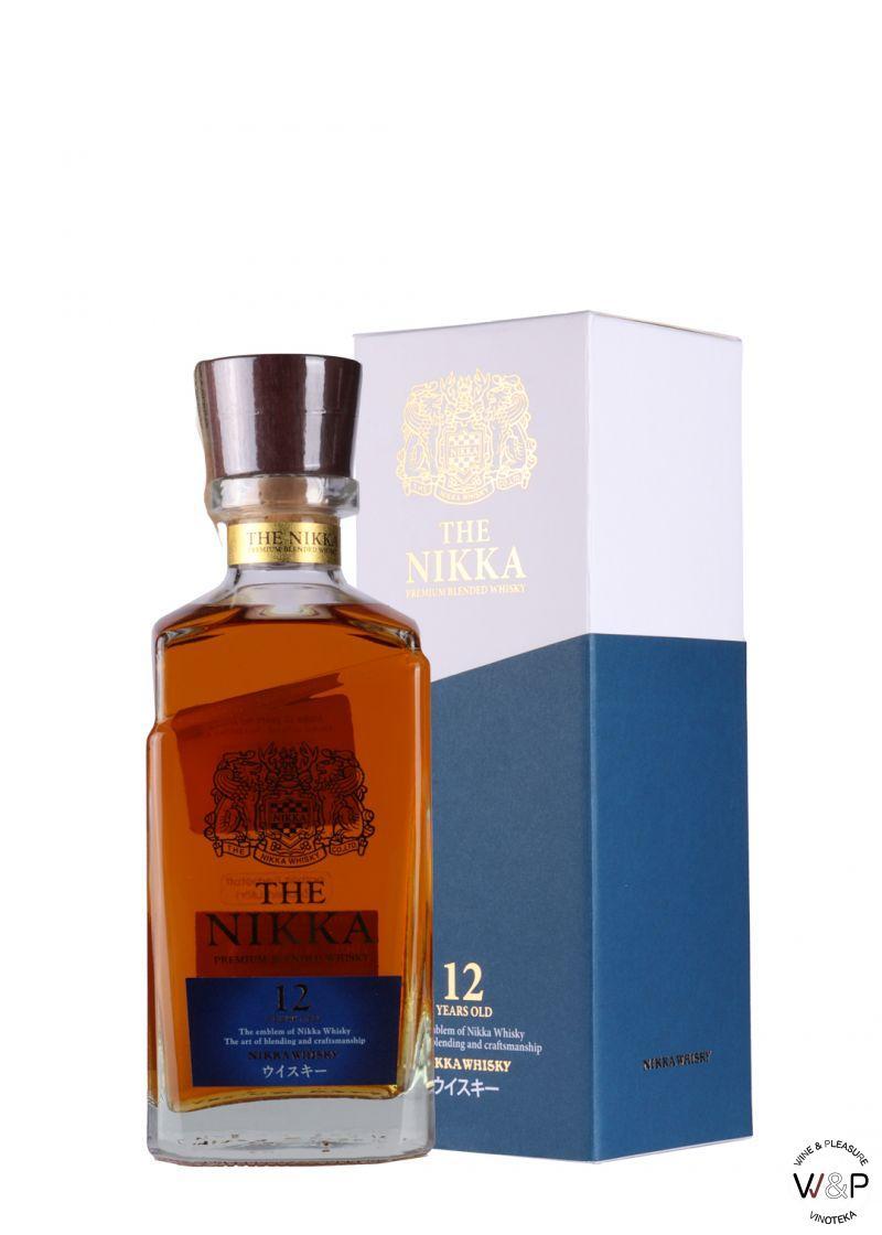 Whisky Nikka 12 YO 0,7l
