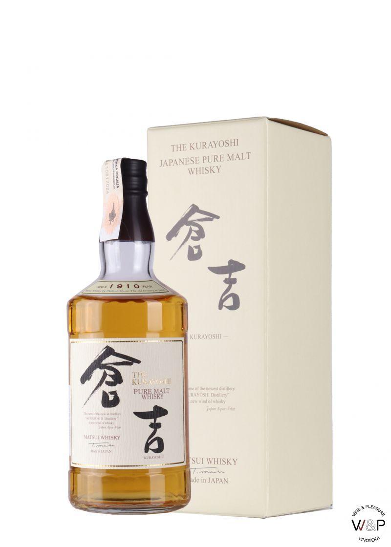 Whisky Kurayoshi Pure Malt 0,7l
