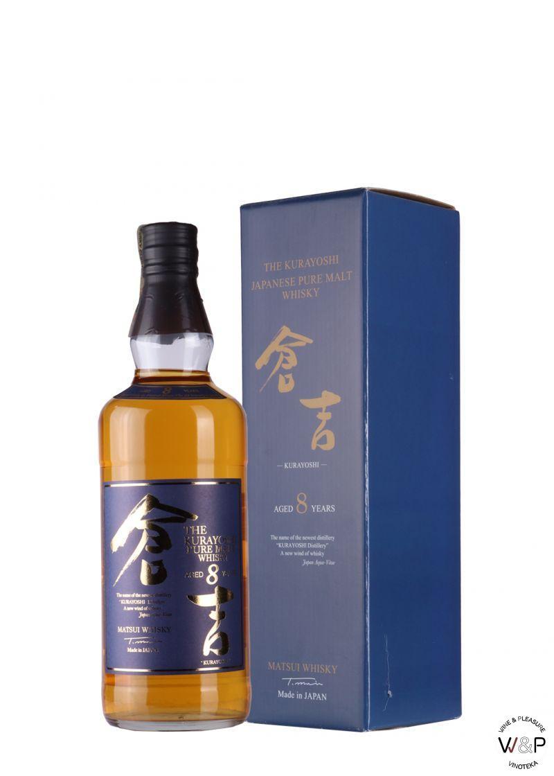 Whisky Kurayoshi Pure Malt 8 YO 0,7l