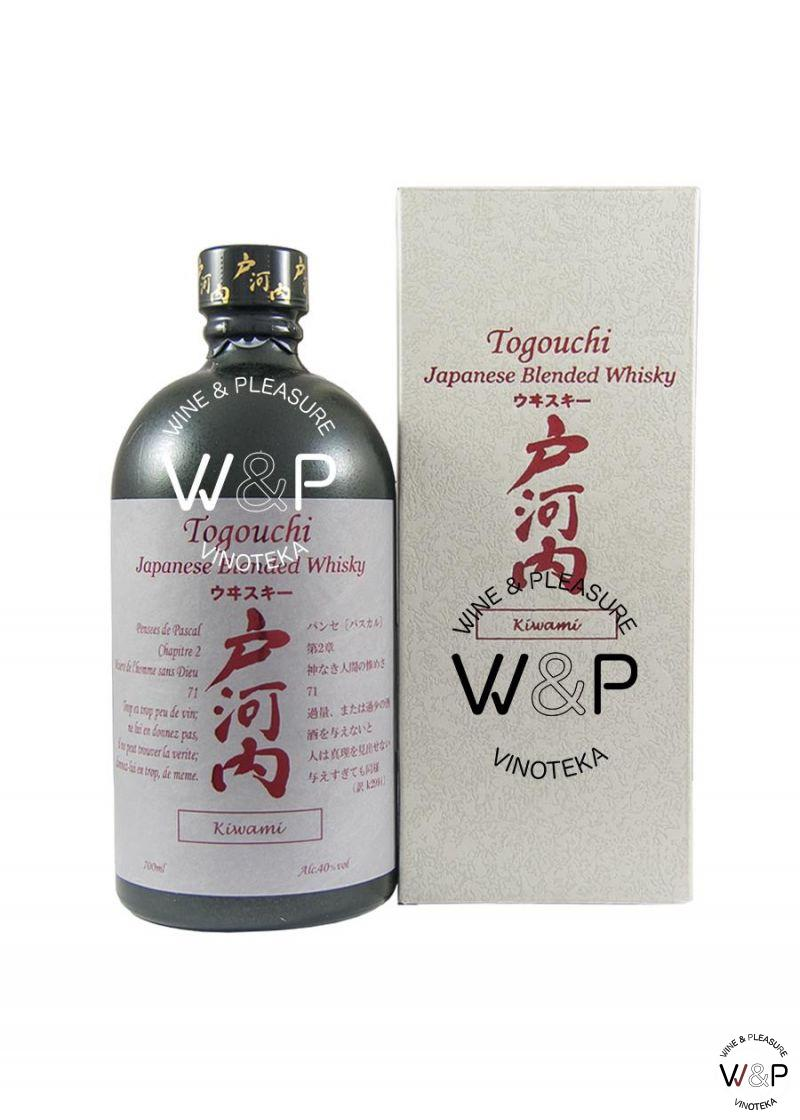 Whisky Togouchi Kiwami 0,7l