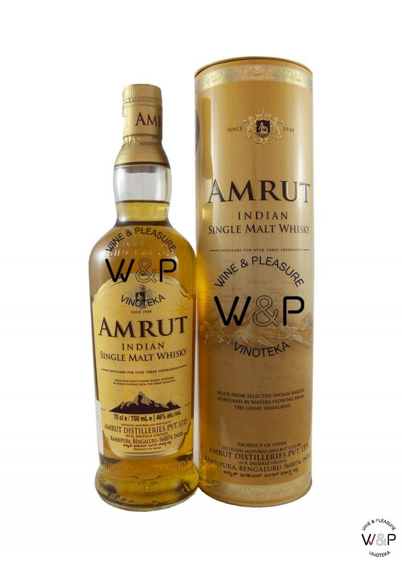 Whisky Amrut Indian Malt 0,7l