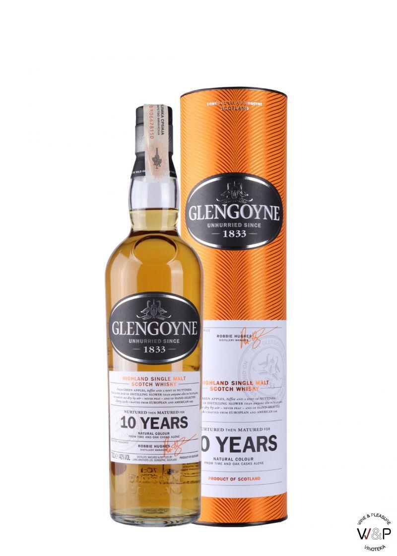 Whisky Glengoyne 10 YO 0,7l