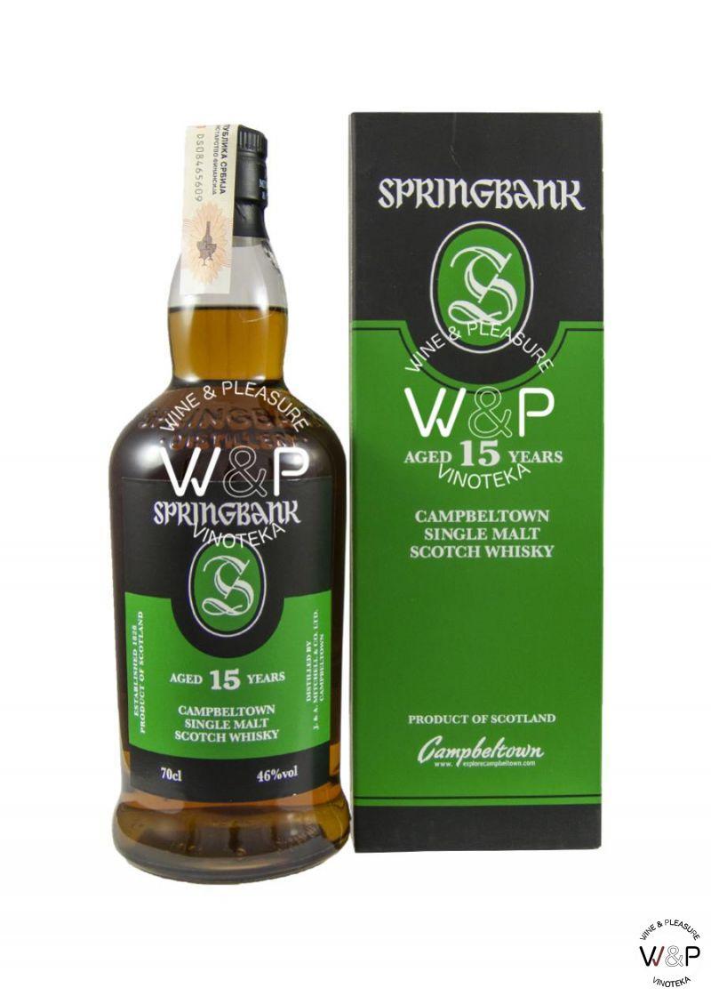 Whisky Springbank 15 YO 0,7l