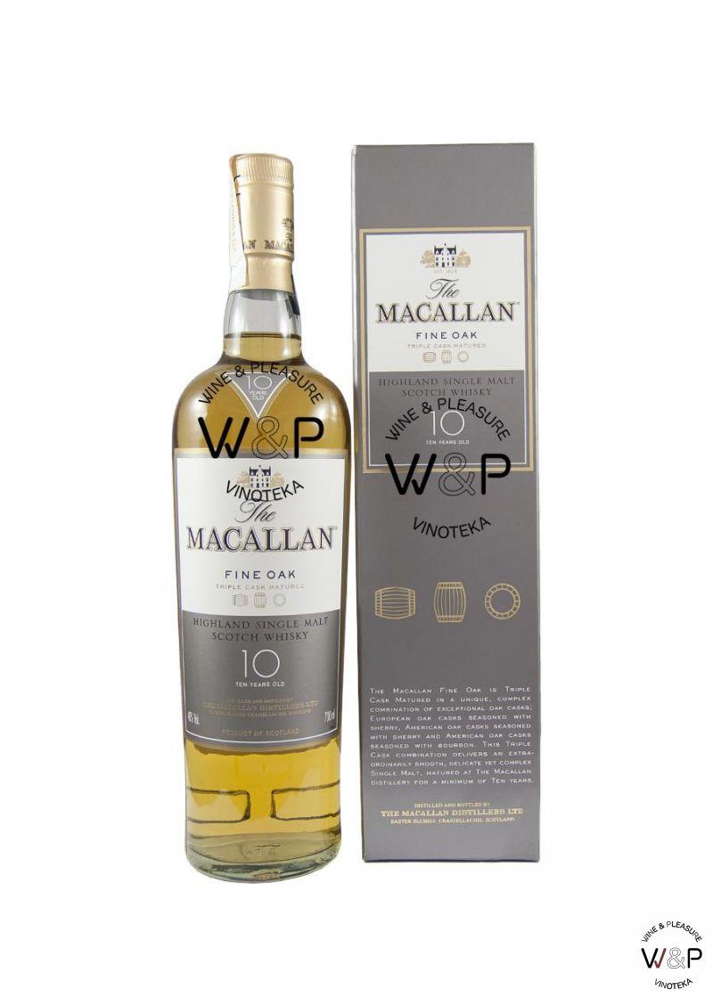 Whisky Macallan 10 YO 0,7l