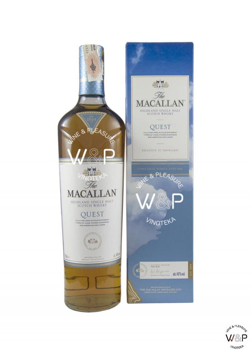 Whisky Macallan Quest 0,7l