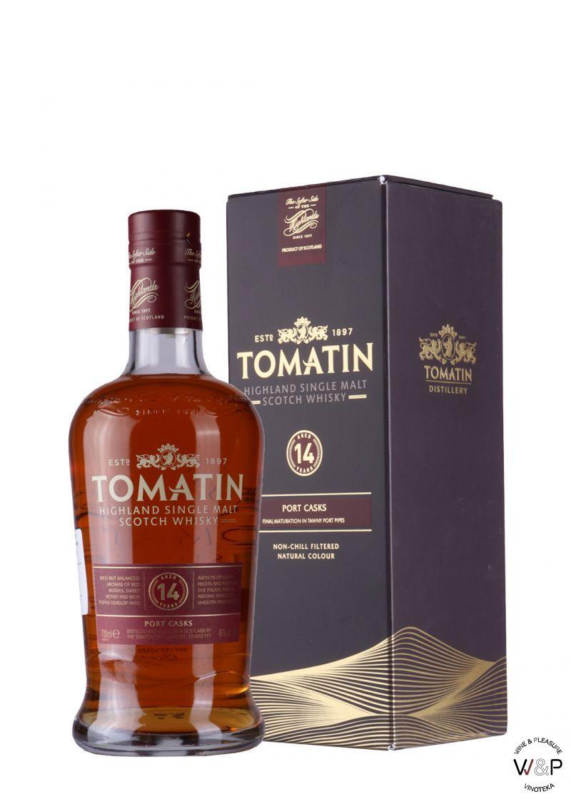 Whisky Tomatin 14 YO 0,7l
