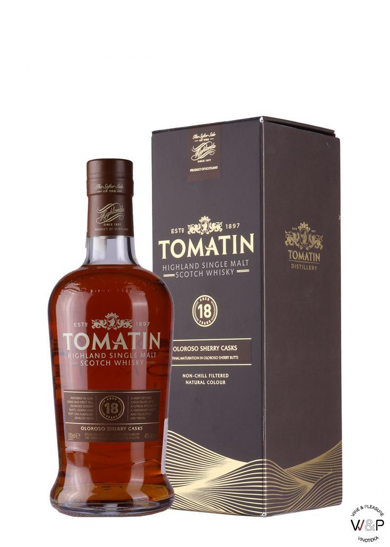 Whisky Tomatin 18 YO 0,7l