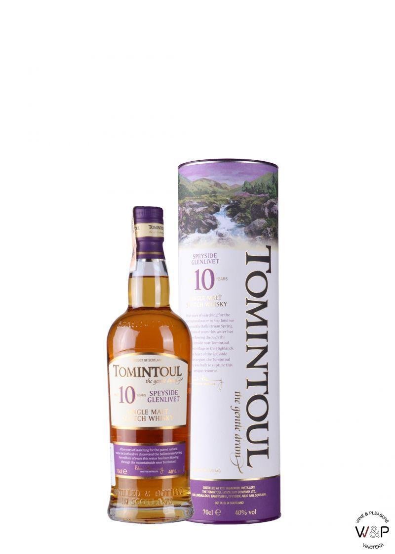 Whisky Tomintoul 10 YO 0,7l
