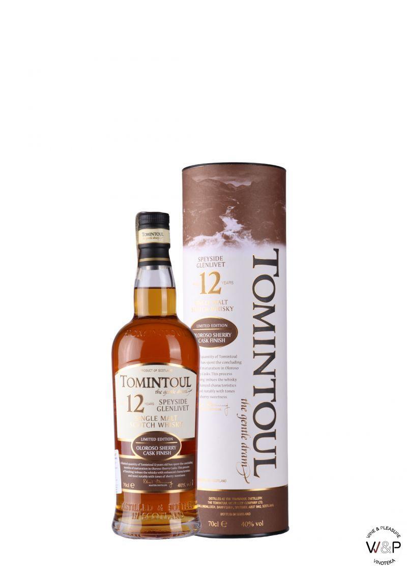 Whisky Tomintoul 12 YO 0,7l