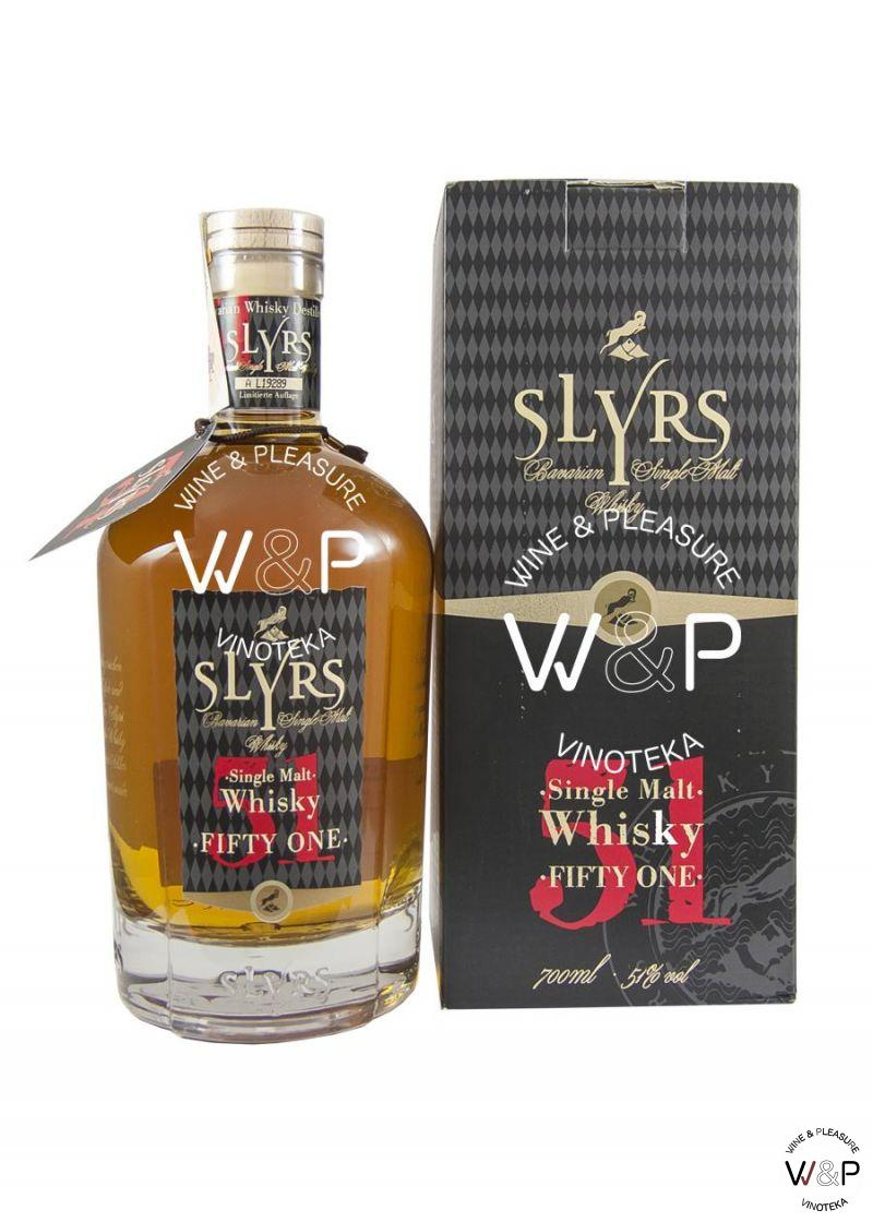 Whisky Slyrs Fifty One 0,7l