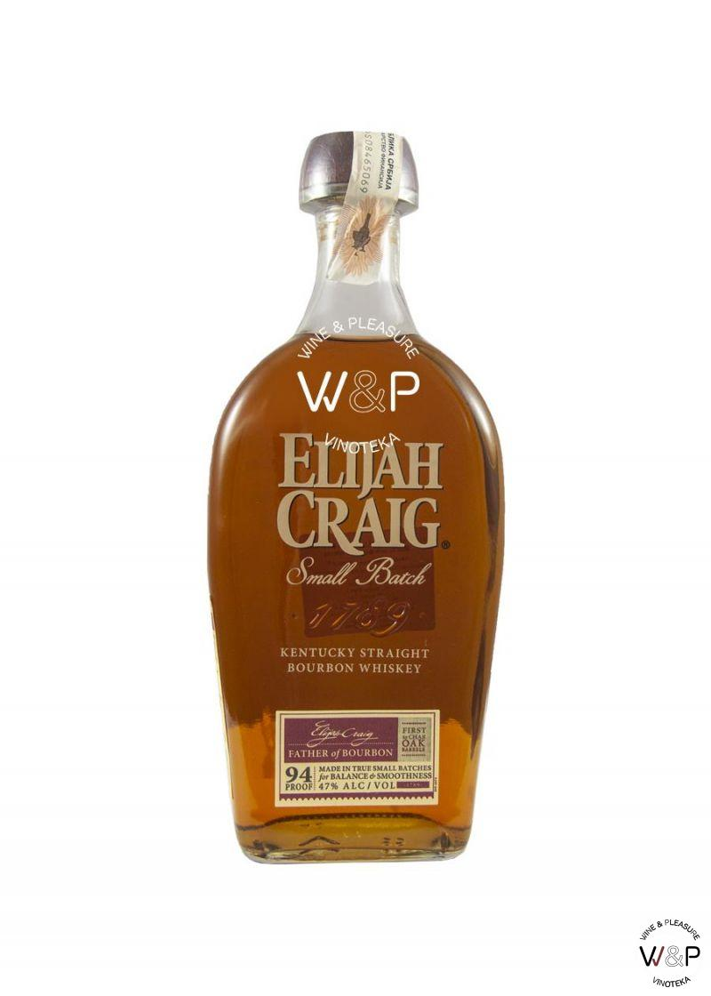 Whisky Elijah Craig Small Batch Bourbon 0,7l