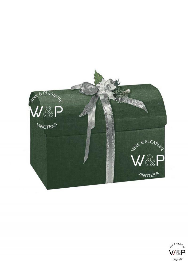 Kutija kartonska zelena - kovčeg-30522