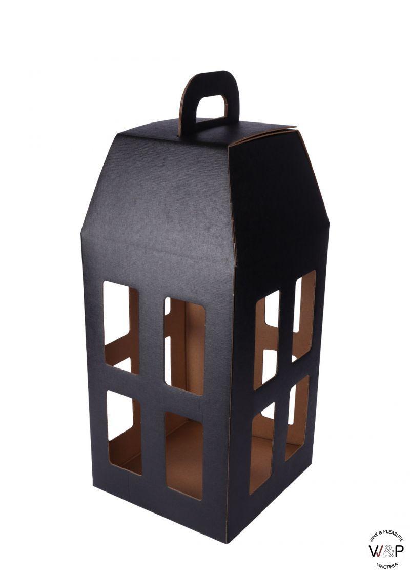 Kutija Kartonska - Lampion crni-13744