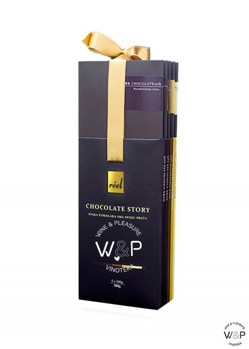 Reel Čokoladni paket 5x100g