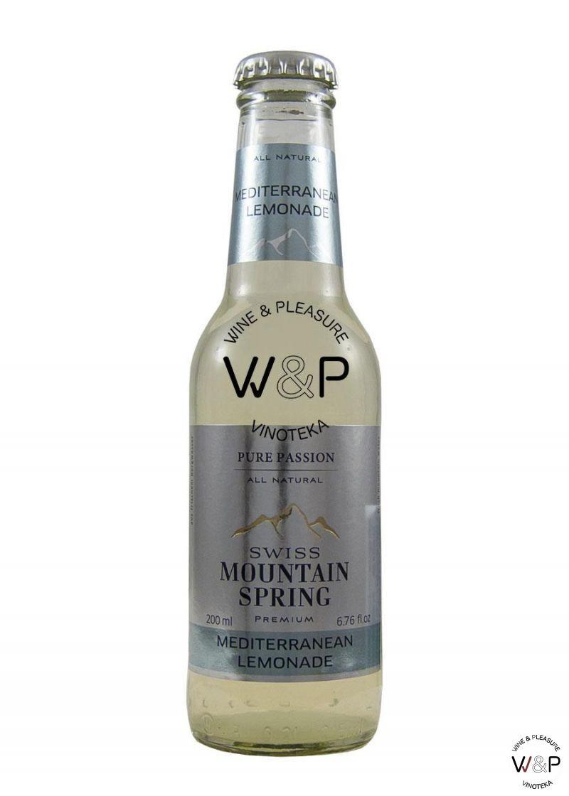 Tonic Mountain Spring Mediterranean Lemonade 0,2l