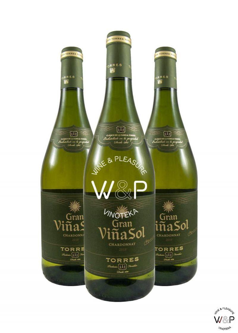 AKCIJA 2+1 Torres Gran Vina Sol Chardonnay