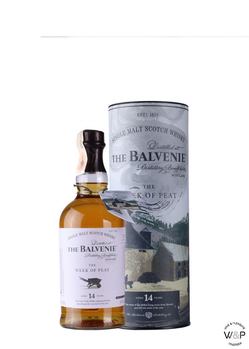 Whisky Balvenie 14Y Week of Peat