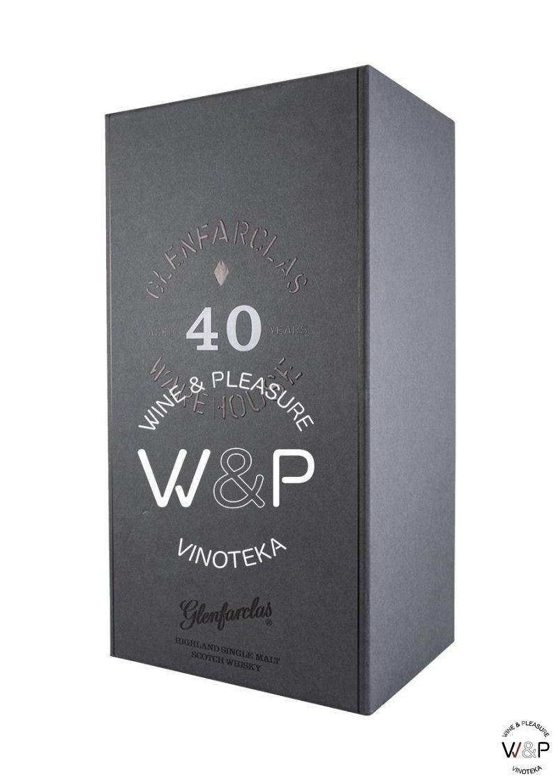 Whisky Glenfarclas 40 YO 0,7l