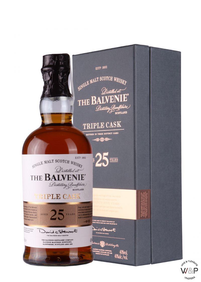 Whisky Balvenie 25 YO Triple Cask 0,7l