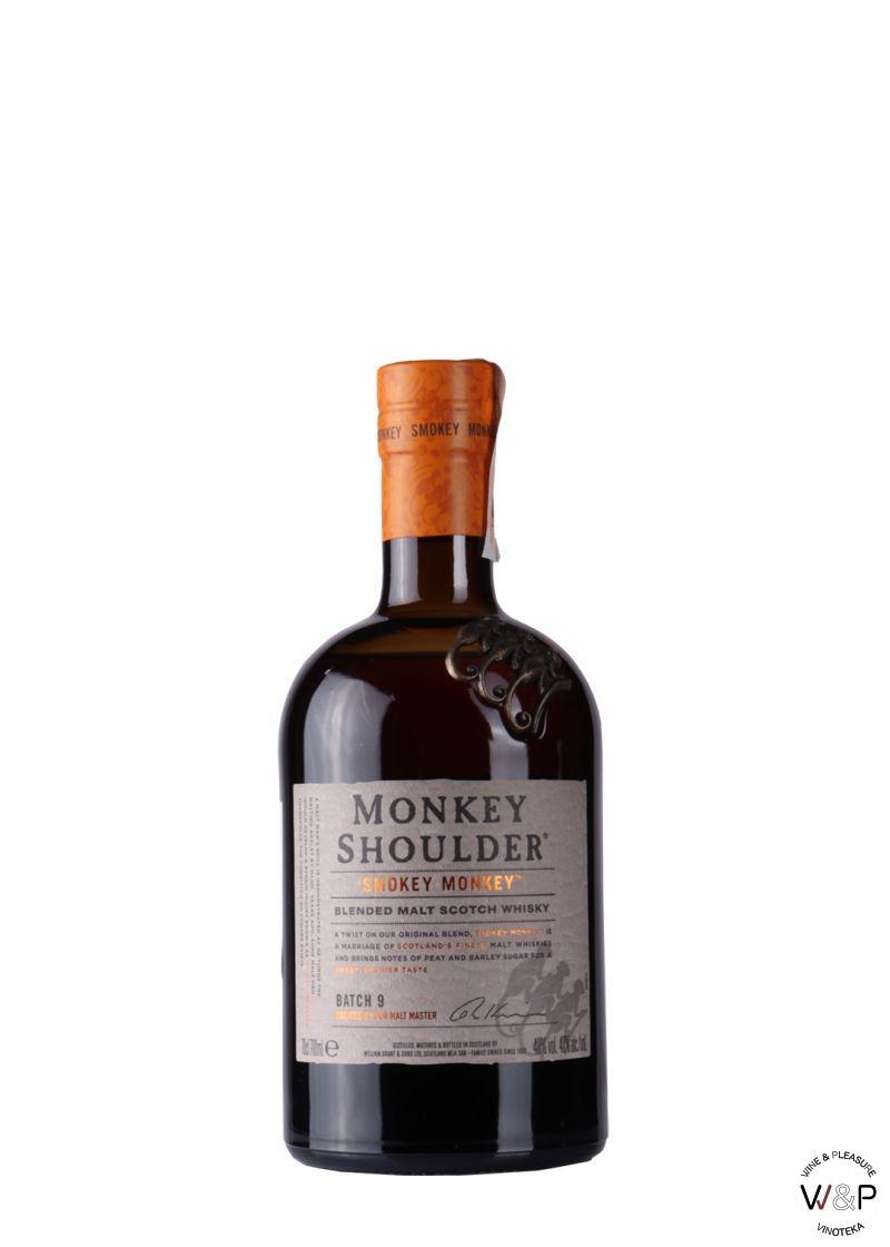Whisky Smokey Monkey Shoulder 0.7l