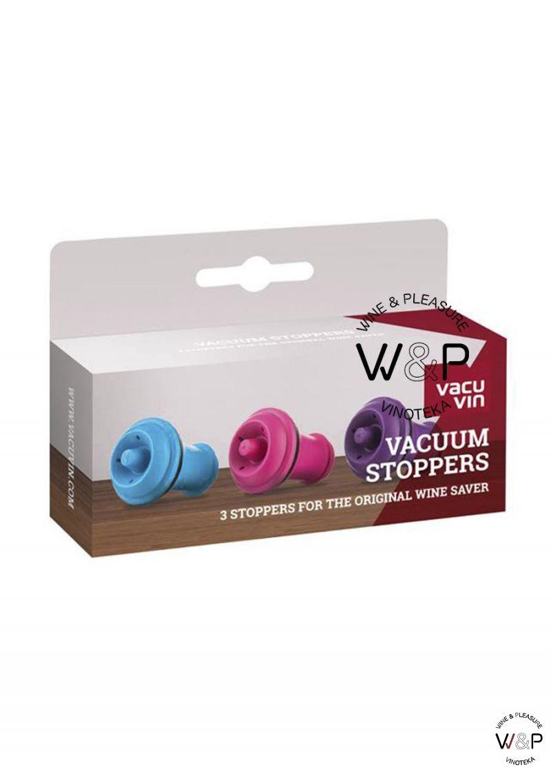 Vacuvin Čep 3 kom u boji 08850606