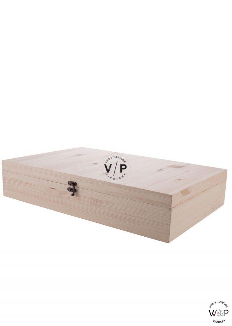 Drvena Kutija za 6 Boca - Natur