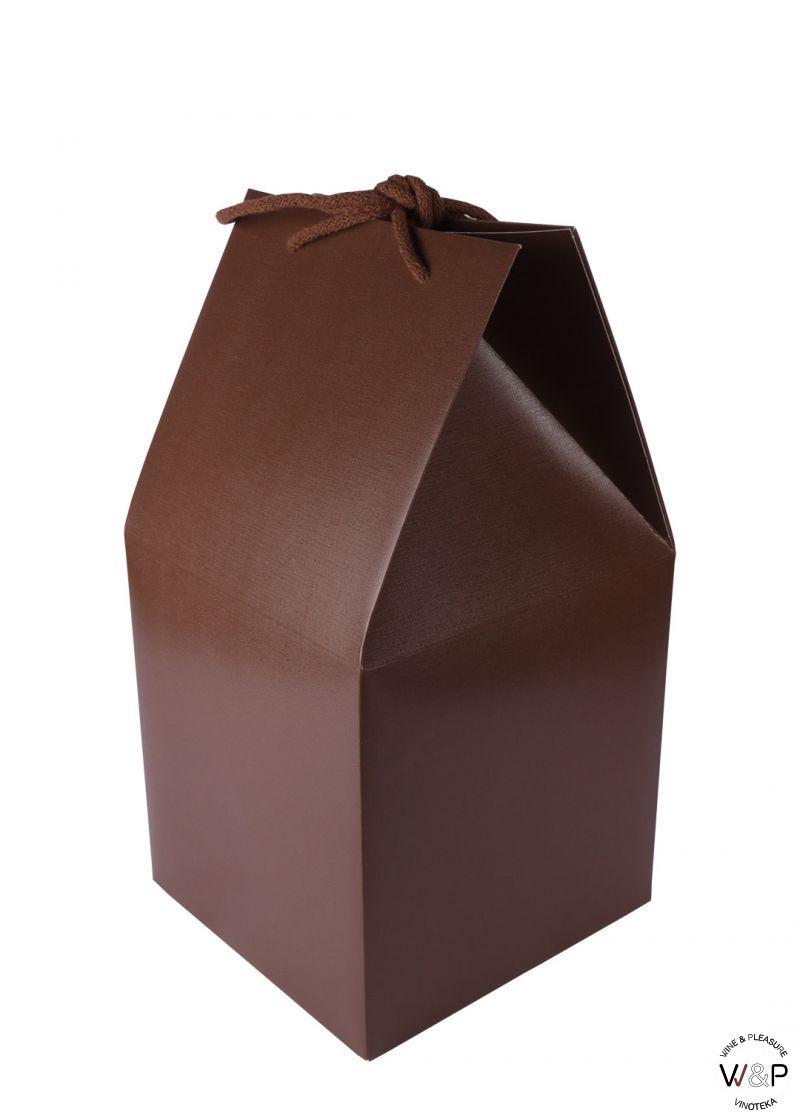 Kutija Braon Sa Kanapom