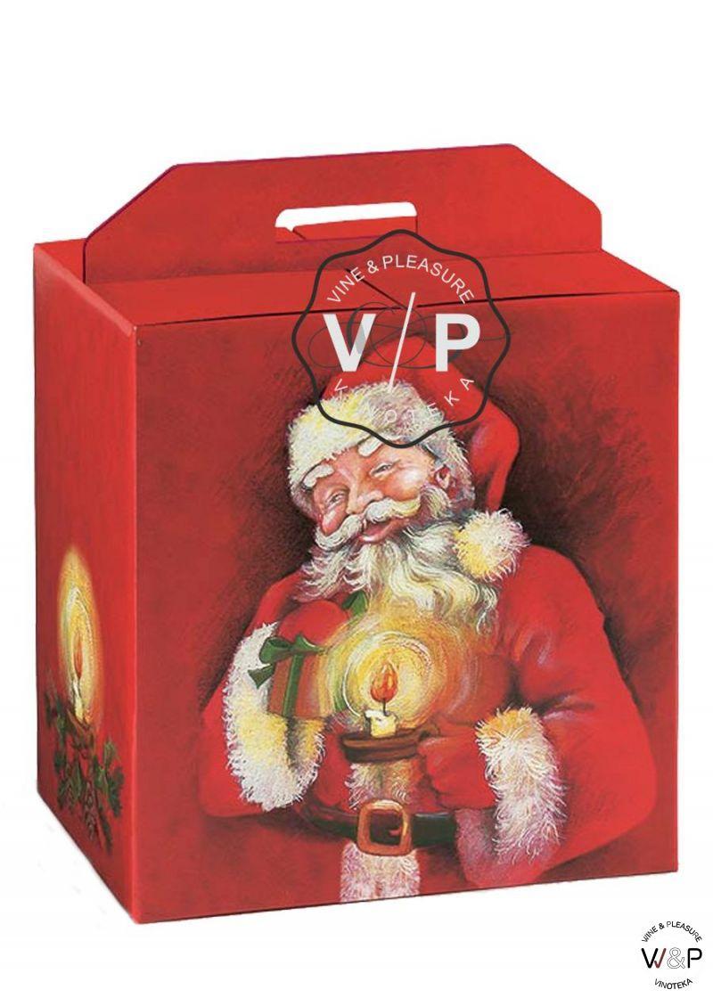 Kutija Deda Mraz Crvena