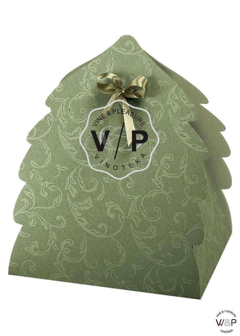 Kutija Jelka Zelena Karton