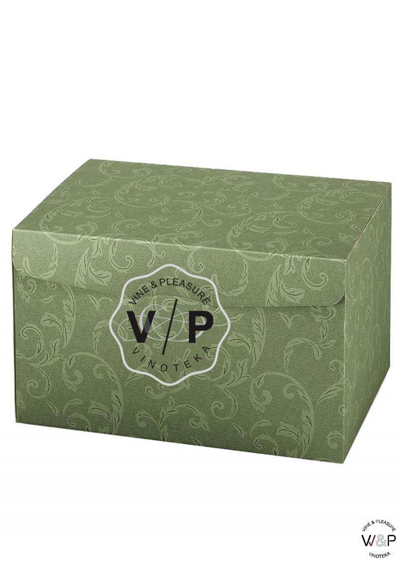 Kutija Kartonska Zelena Srednja
