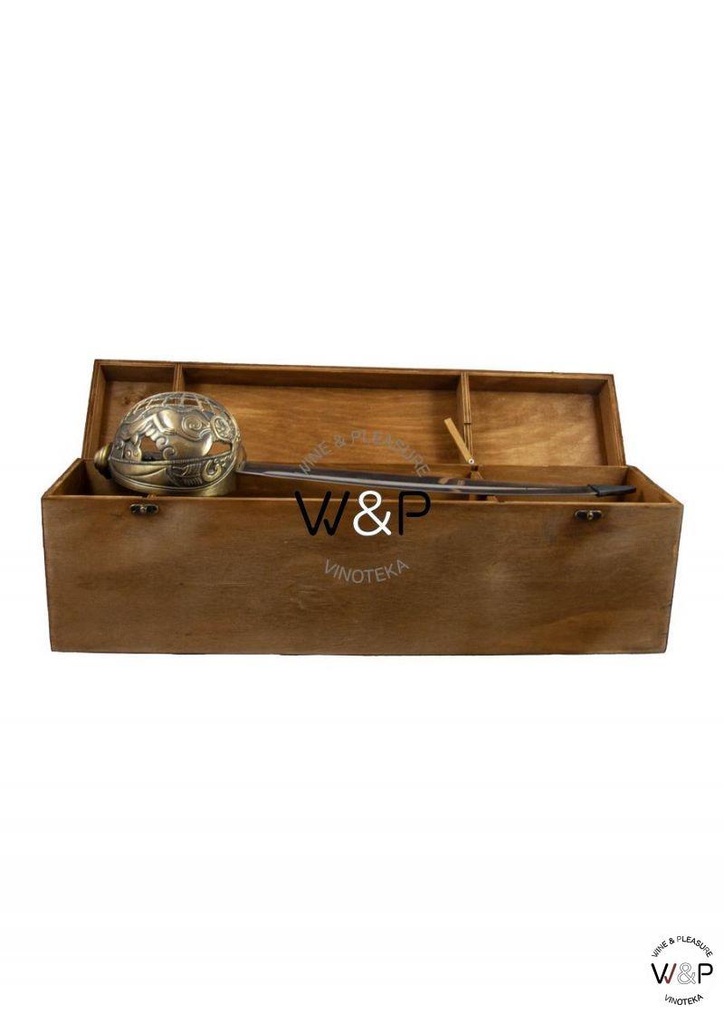 Drvena Kutija Sa Sabljom