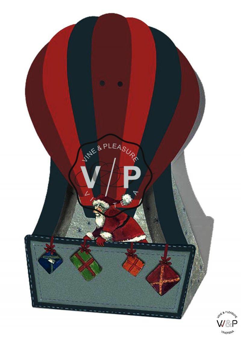Kutija Deda Mraz U Balonu