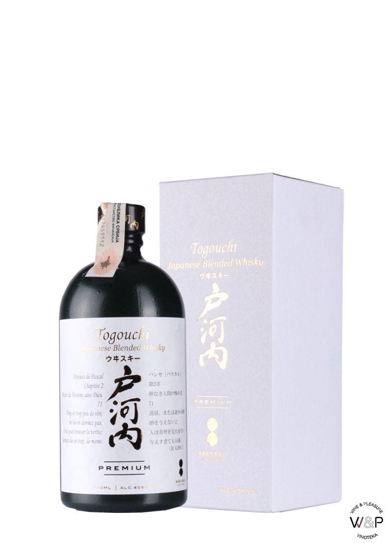 Whisky Togouchi Japanese 0.7L